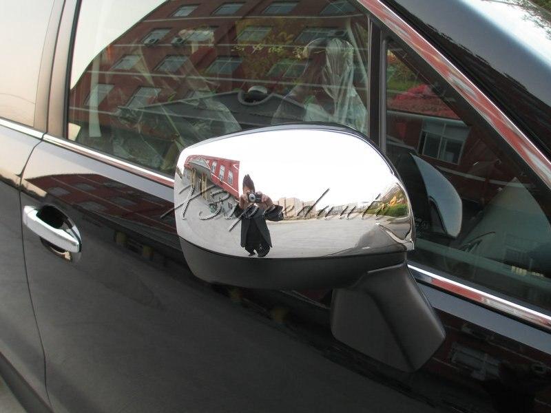 Couvercle de miroir de porte latérale en plastique ABS chromé pour Forester 2013 Up