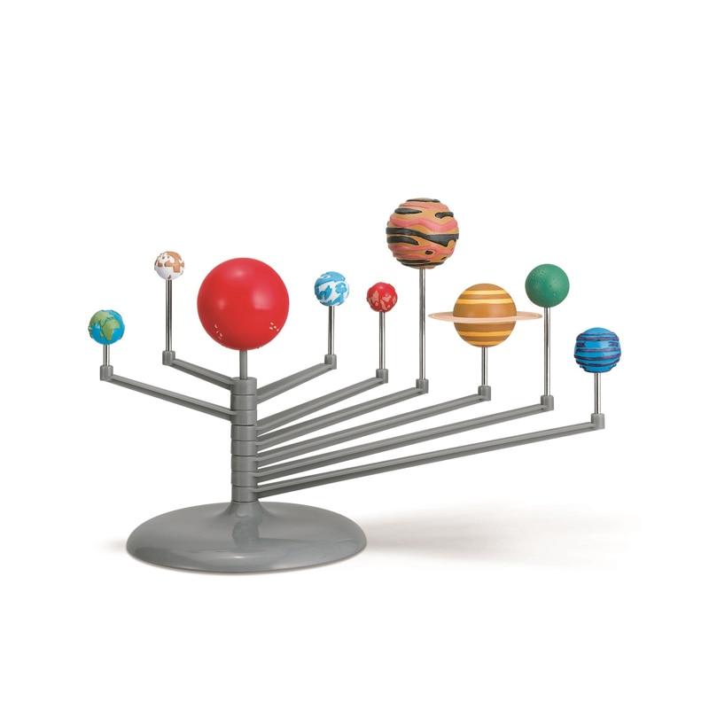 Купить с кэшбэком 3D Solar System Planetarium Nine Planets Model Universe Explore Kit