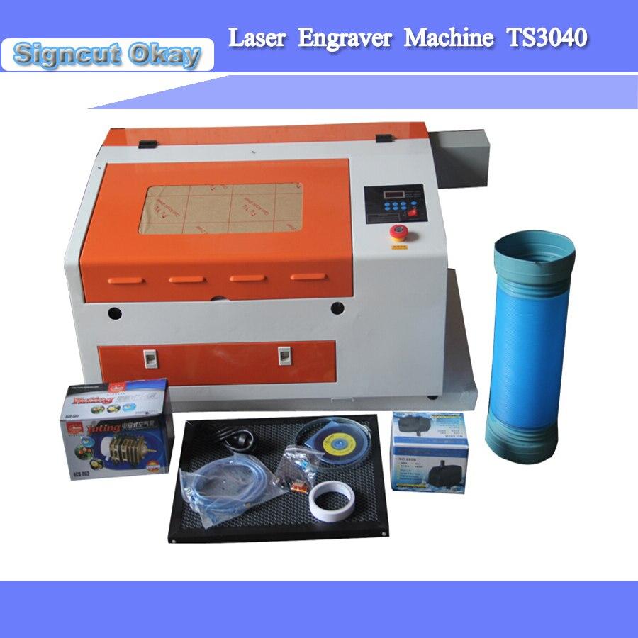 Co2 3040 Laser Engraving Machine Cutter Machine CNC Laser Engraver DIY JIN ZHI YIN Laser Machine
