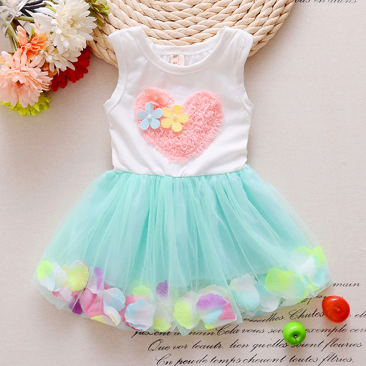 2017-new-trends-summer-sweet-little-girl-love-sleeveless-dress-cotton-lace-petals-pink-love-childrens-Princess-Dress-2