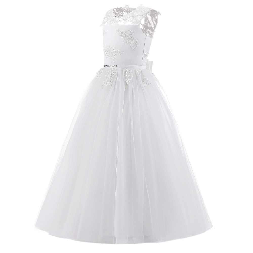 Vestidos Largos Para Niñas Vestido De Fiesta Elegante Para Bebé Niña Vestidos De Noche Vestido De Princesa Ropa De Boda Ropa De Banquete Noble