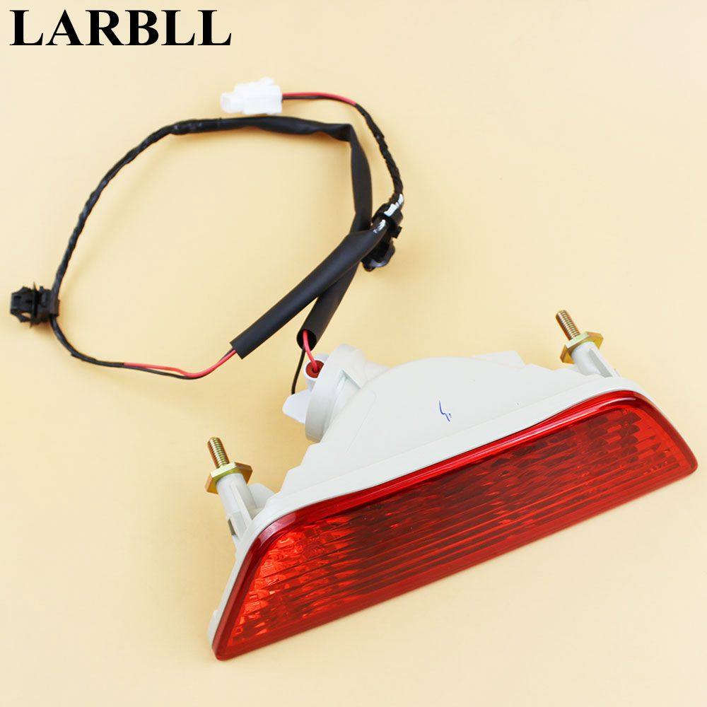 LARBLL Car Auto Rear Tail Bumpe lower Fog Light Lamps Assembly reflector fit for Suzuki SX4 S-Cross 2013-2016 bulls cross tail 2016