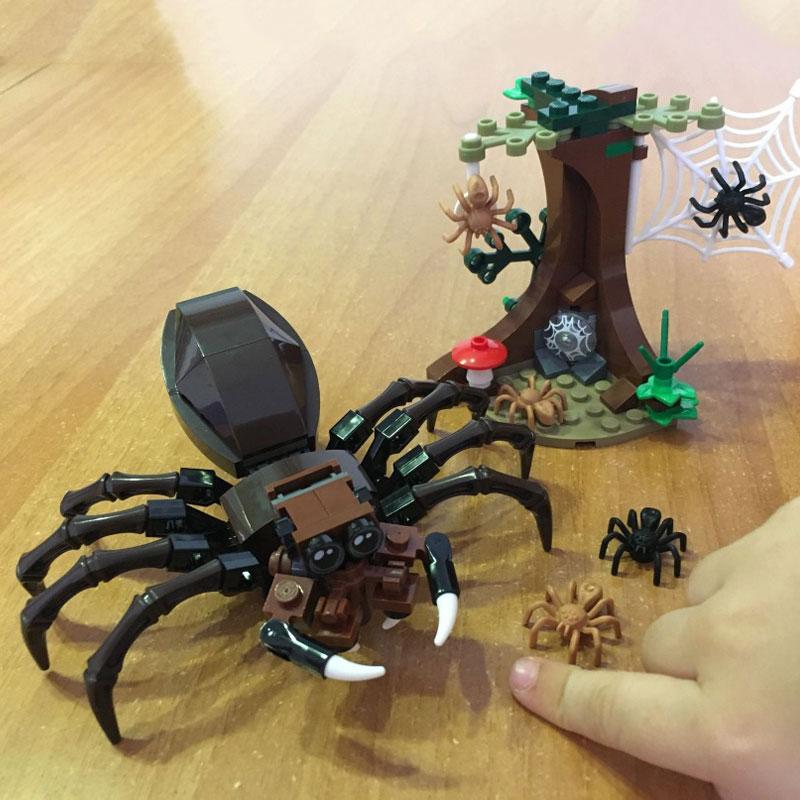 Harri Potter Series Aragogs Lair Spider Building Blocks Bricks Toys Compatible Legoings Movie Kids GiftHarri Potter Series Aragogs Lair Spider Building Blocks Bricks Toys Compatible Legoings Movie Kids Gift