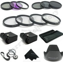 100% GUARANTEE 67MM Macro Close Up Set + UV CPL FLD/ ND 2 4 8 Filter Kit for Canon&NIKON  DSLR 15-85MM 18-200MM 28-135MM