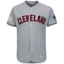 b77489ed0 MLB Men s Cleveland Indians Francisco Lindor Baseball Gray 2017 MLB  All-Star Game Authentic Flex Base Jersey