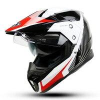 2016 YOHE Motorcycle Helmet Dual Lens Cross Country Helmet Off Road Racing Motocross Helmet With Inner
