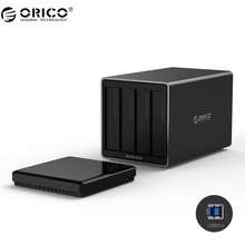 ORICO NS400U3 4 Bay USB3.0 Hard Drive Dock Support 40TB storage USB3.0 5Gbps UASP with 12V6.5A Adapter Tool Free HDD Enclosure