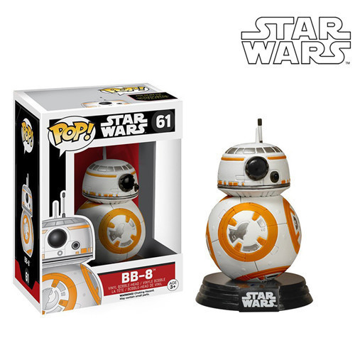 Funko POP Star Wars Force Awaken BB 8 BB-8 PVC Action Figure Collectible Model Toy 10cm  funko pop wonder woman pvc action figure collectible model toy 10cm wonderwoman