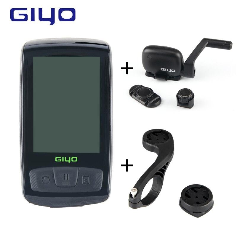 Sans fil Bluetooth4.0 Ordinateur De Vélo Avec Support de Vélo Compteur de Vitesse/Cadence Capteur Étanche Ordinateur de Vélo De Route