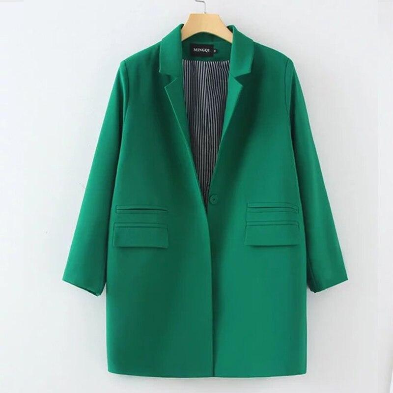 2018 New Women Autumn Winter   Trench   Coat Female Double Pockets Blazer Cloaks For Women Coat Windbreaker Plus Size M-XXXL 50