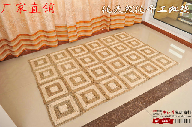 Corn Bran Straw Tatami Mats Carpet Floor Custom Windows Kang Mat Minimalist Foyer