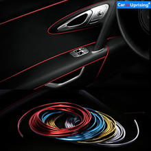 3M 5M Car Styling Interior Exterior Decoration Strips Stickers for Ford Focus 2 3 4 Mondeo Ecosport Fiesta Car Accessories