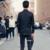 Luxury brand clothing 2017 camisa de vestir para hombre slim fit camisas del club diseñador masculino hombre chemise homme camisas negras simms palacio
