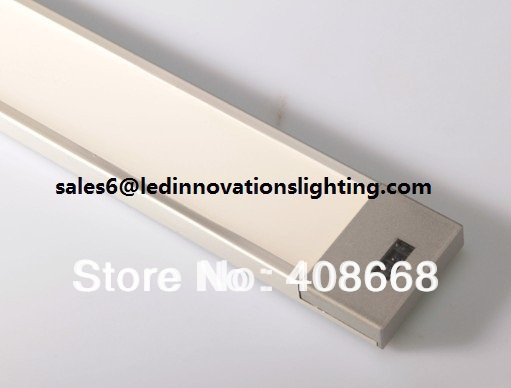 ФОТО Free Shipping LED Sensor Cabinet Light  9W 12VAC CRI80 600*40*9.50mm By Hand Scan Warmwhite coldwhite Wholesales