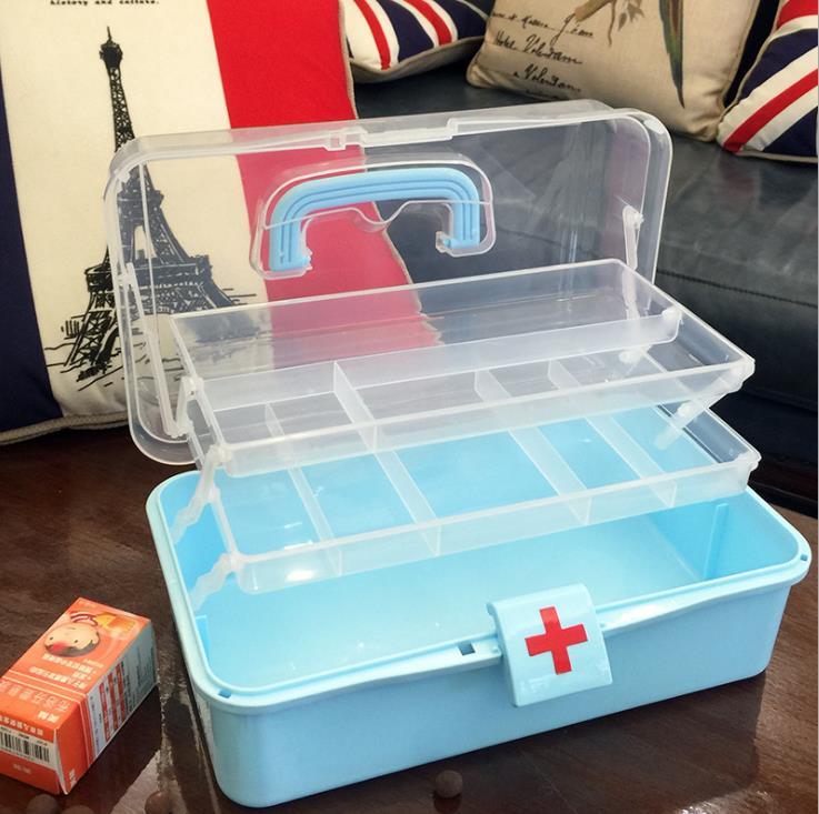 SLL81 ---- скорой медицинской ящик для хранения наркотиков, medicine, для домашнего использования multi-слой Размер toolbox, портативный здоровья, медицин...