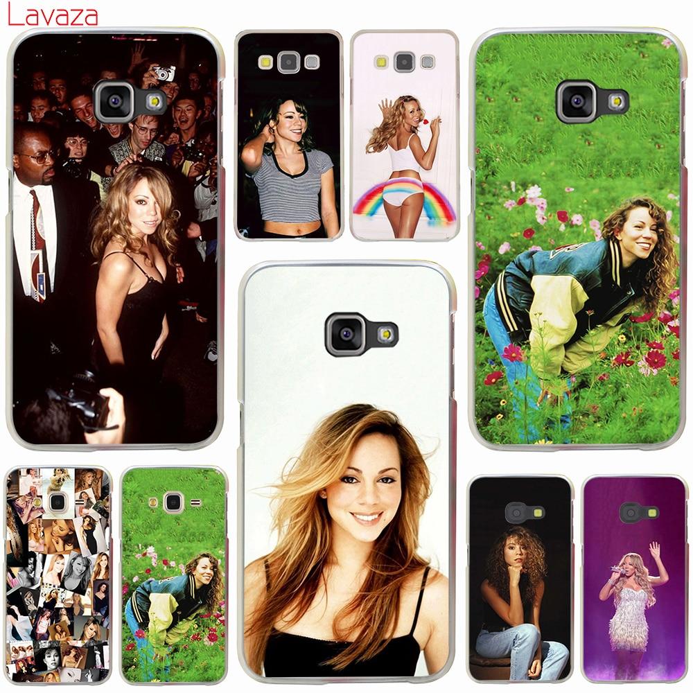 Lavaza Mariah Carey Hard Case for Samsung Galaxy A3 A5 2016 2017 Grand  Prime A6 A8 d1cd611a3411
