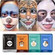 Masque Hydratant pour le Visage, Animal Hydratant, 3 pièces, soin Peau De Mouton, Panda, Chien et Tigre