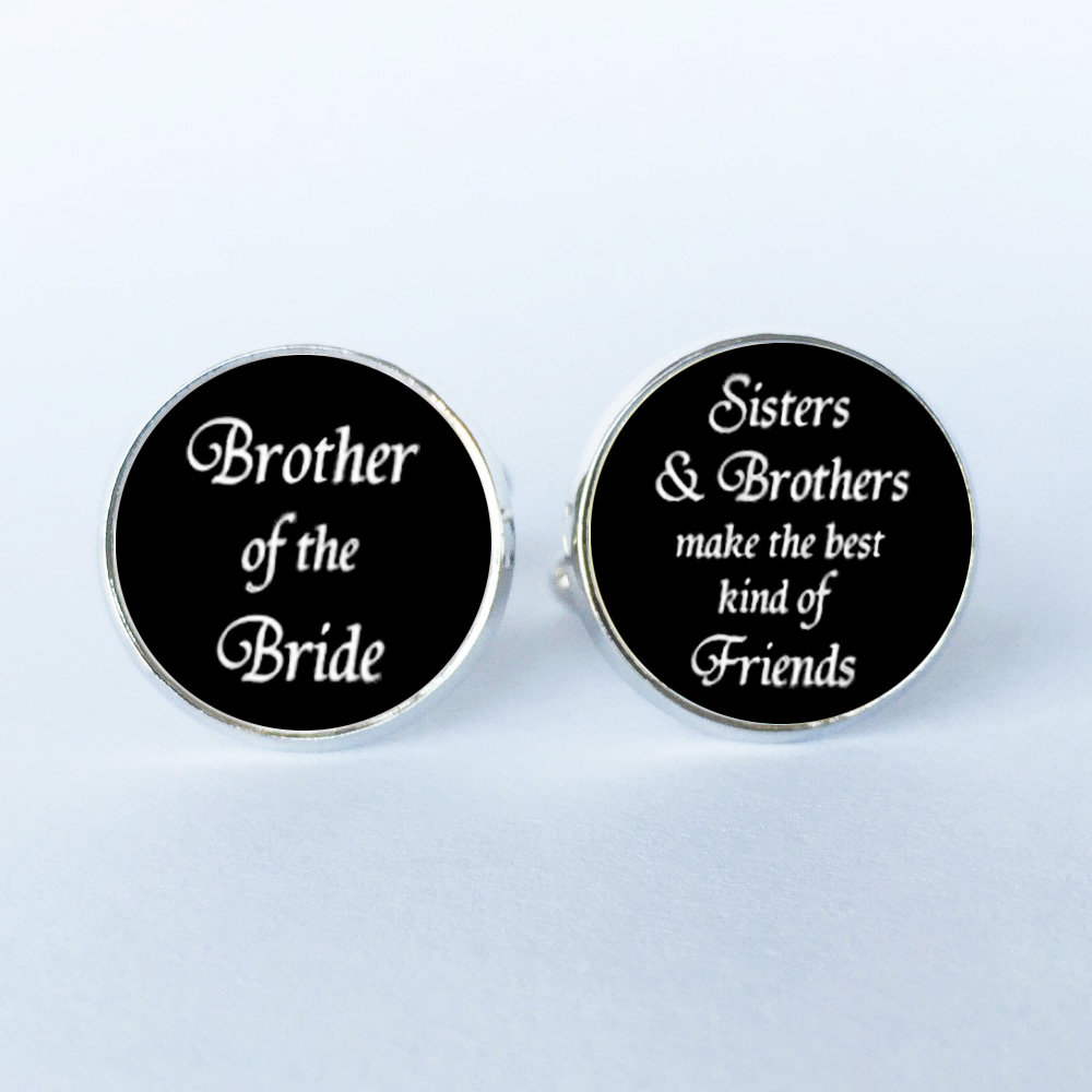1 Pair I Love You I Know Cufflinks Quote Gift For Him On Your