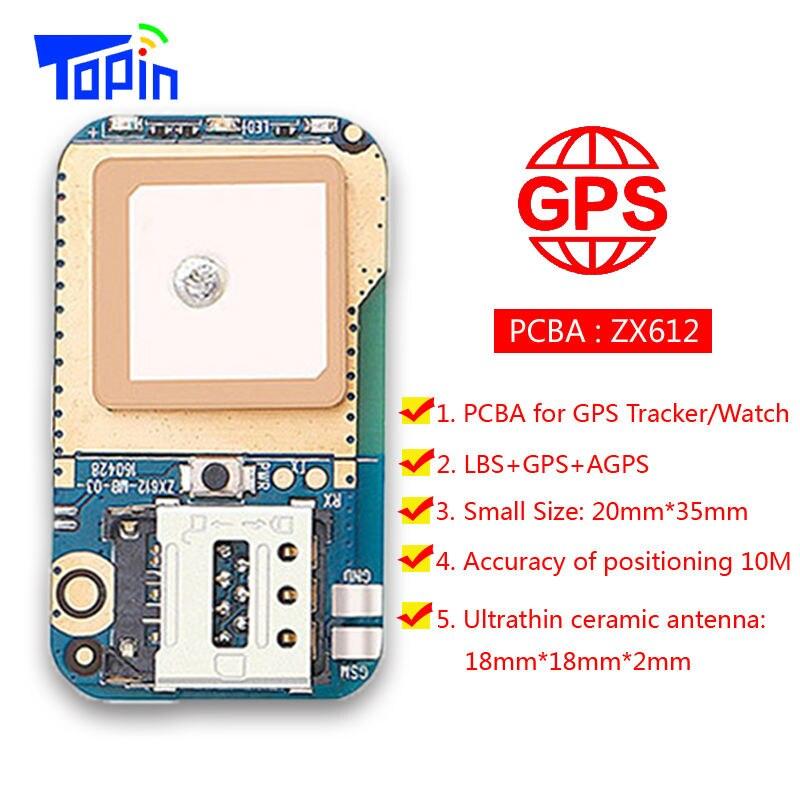 10pcs lot DIY ZX612 PCBA Mini GSM GPS LBS Tracker Positioning Locator SOS Alarm Real time