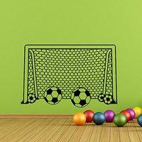 Garçon Mur Sticker Football Football Objectif Net Wall Sticker-Football Sticker Football Sport Décor Enfants Garçon Pépinière Art M191