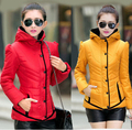 Free Shipping Casaco Feminino 2016 Winter Jacket Women Slim Office Ladies Zippers Plus Size down & Coats