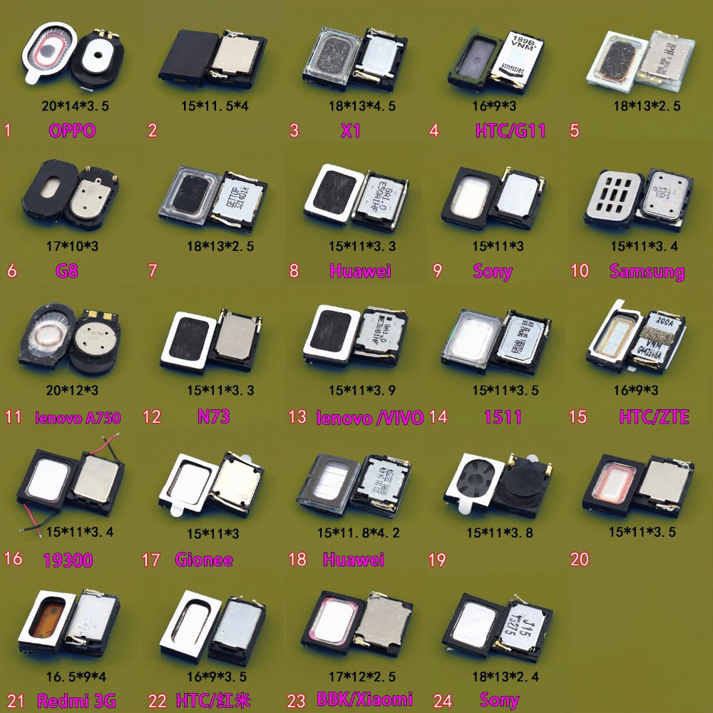 48Models Loudspeaker Speaker Phone Ringing Earpiece Buzzer Receiver Repair Part  Loudspeaker Speaker Phone Ringing
