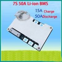 7 S 50A 25.9 V li-ion 18650 Ricarica della batteria al litio protezione Caricatore bms pcm consiglio 24 V