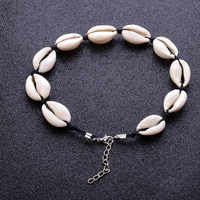 YOBEST 2018 Boho Sea Shell Halskette Frauen Natürliche Shell Schmuck Chocker Einfache Neckless Für Mädchen