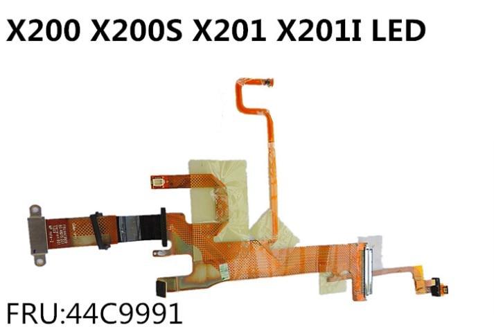 LCD LED screen Video cable 44C9991 44C9990 for IBM Lenovo thinkpad X200 X201