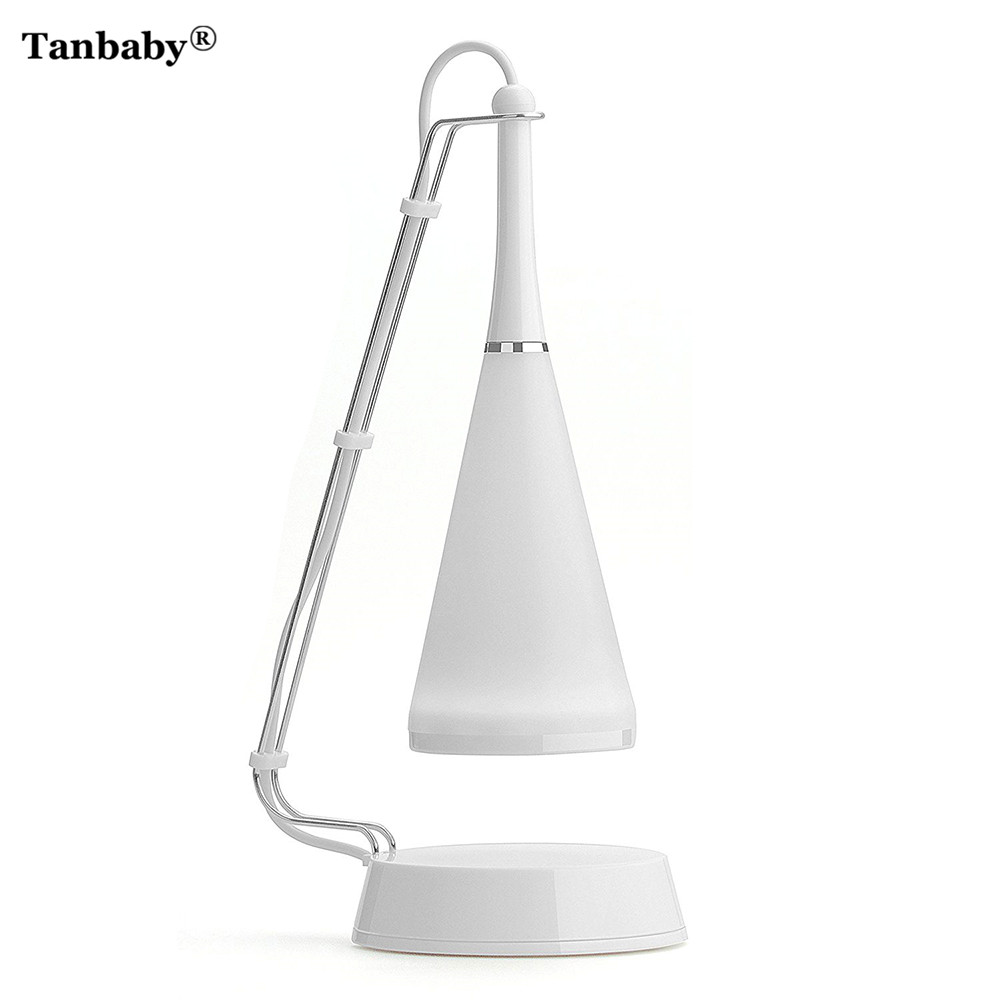цена на Tanbaby LED Touch Sensor Table Lamp Bluetooth Speaker Light Adjusted Audio Desk Lamp With Audio Cable USB Charging Night Light
