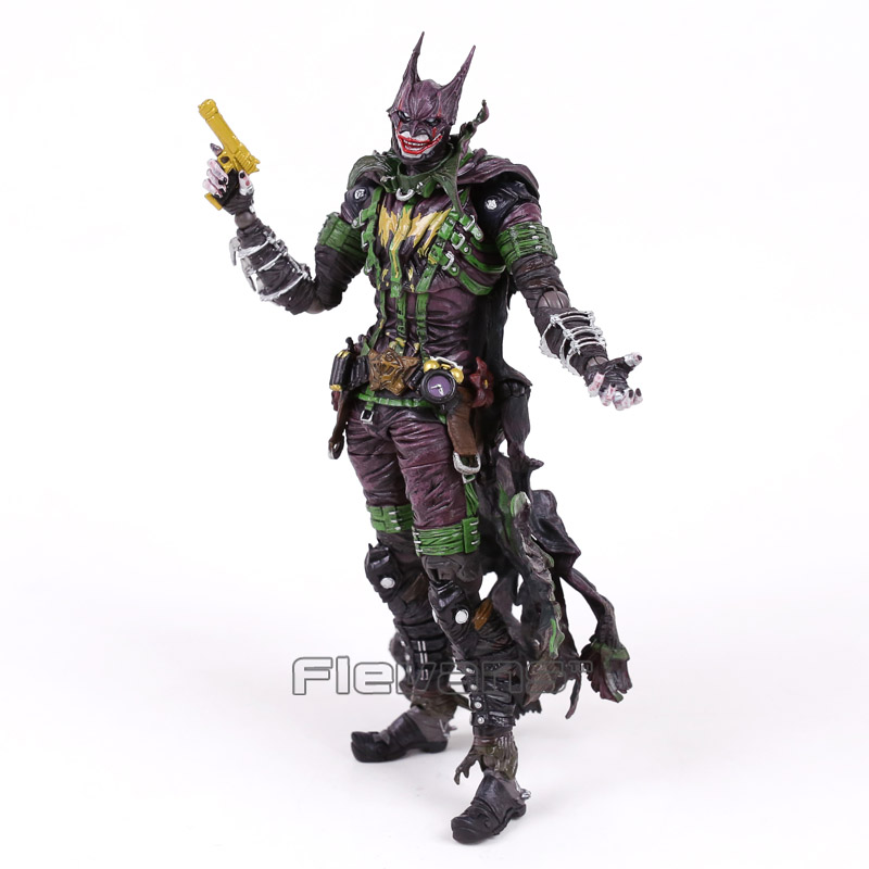 DC COMICS VARIANT PLAY ARTS KAI BATMAN Rogues Gallery The Joker PVC Action Figure Collectible Model Toy 26cm gogues gallery two face batman figure batman play arts kai play art kai pvc action figure bat man bruce wayne 26cm doll toy