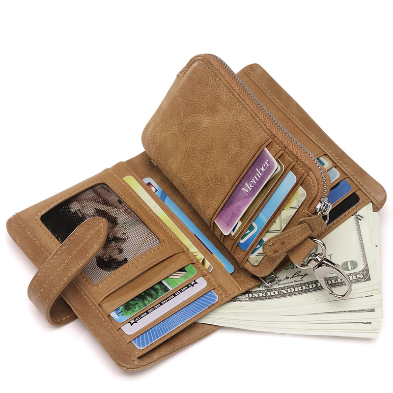 ФОТО teemzone Mens Removable Standard Bifold Purse Card Case Cellphone Holder Coin Zipper Clutch Bag Removable Wristlet Wallet Q609