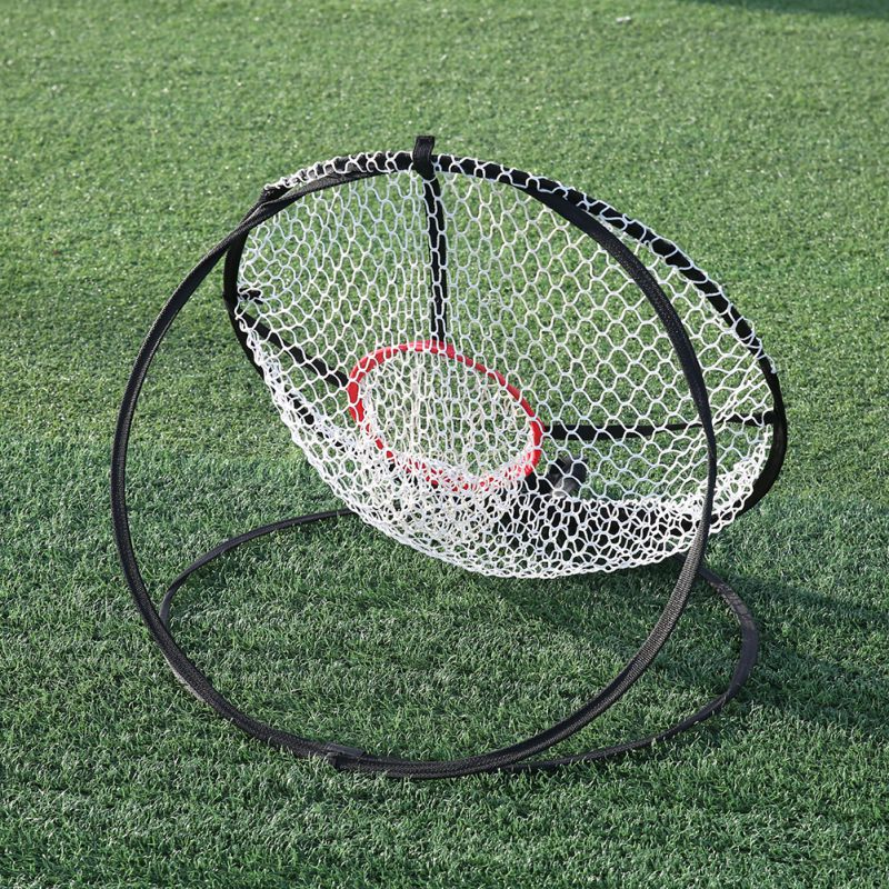 50CM Small Golf Training Aids Outdoor Sports Entertainment Ground Exercise Trainer Fake Target Ball Collector Accessories Target