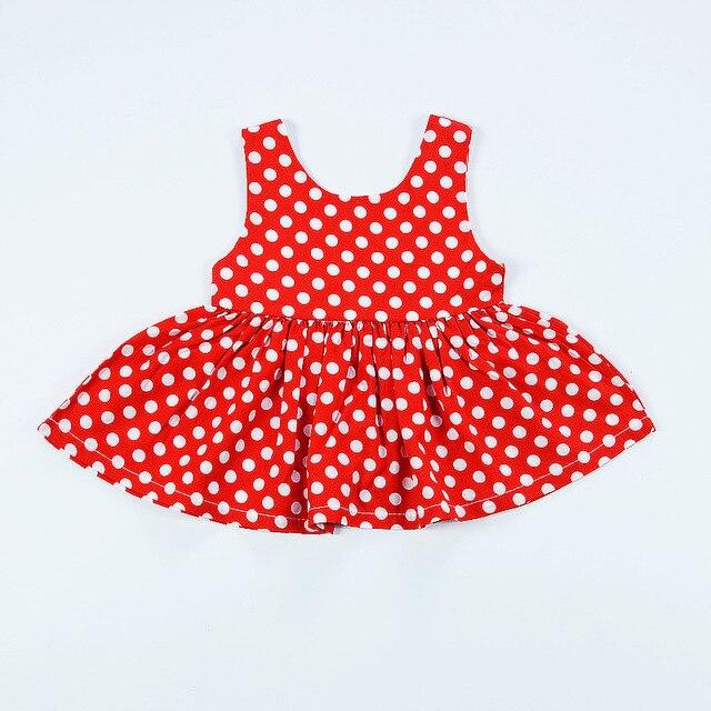 2017 New Baby Dress Infant Girl Dress Dot Print Baby Girls Clothes