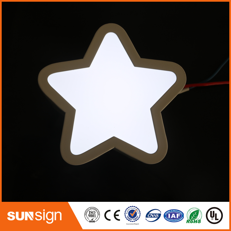 Advertising Outdoor LED 3D Letters Vintage Sign Office Wall Sign