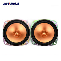 2pcs 3 Inch 4 Ohm 10W Full Range Speaker Bullet Double Magnetic Small Louderspeaker Accessories Speakers