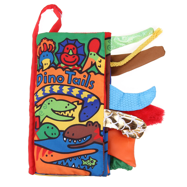 colorful cloth book infant kids early development cloth books