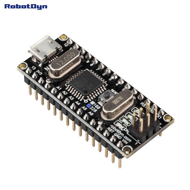¡Nano CH340/ATmega328P MicroUSB... pines soldado! Compatible con Arduino Nano V3.0