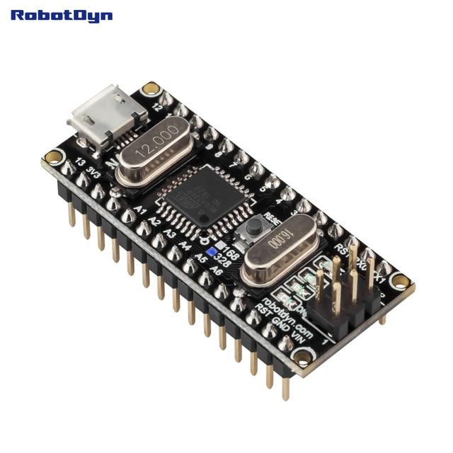 Nano CH340/ATmega328P MicroUSB, pines soldados. Compatible con Arduino Nano V3.0