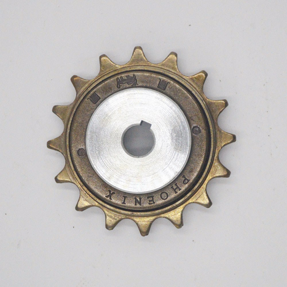 16 Teeth Bicycle Chain Sprocket For Electric Bike Motor MY1016Z 16T Flywheel For MY1018 Customized Mid-drive Motor 16T Freewheel16 Teeth Bicycle Chain Sprocket For Electric Bike Motor MY1016Z 16T Flywheel For MY1018 Customized Mid-drive Motor 16T Freewheel