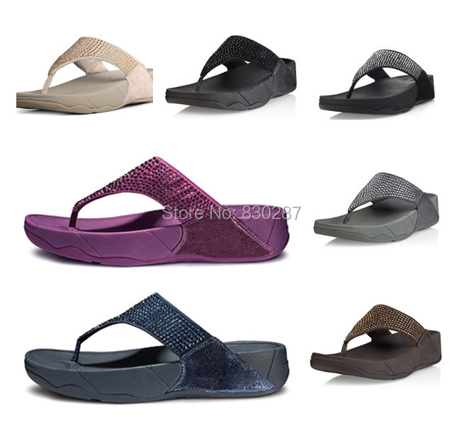 new arrival nice shoes first look wholesale cheap flip flops rokkit sandals crystal brand women ...