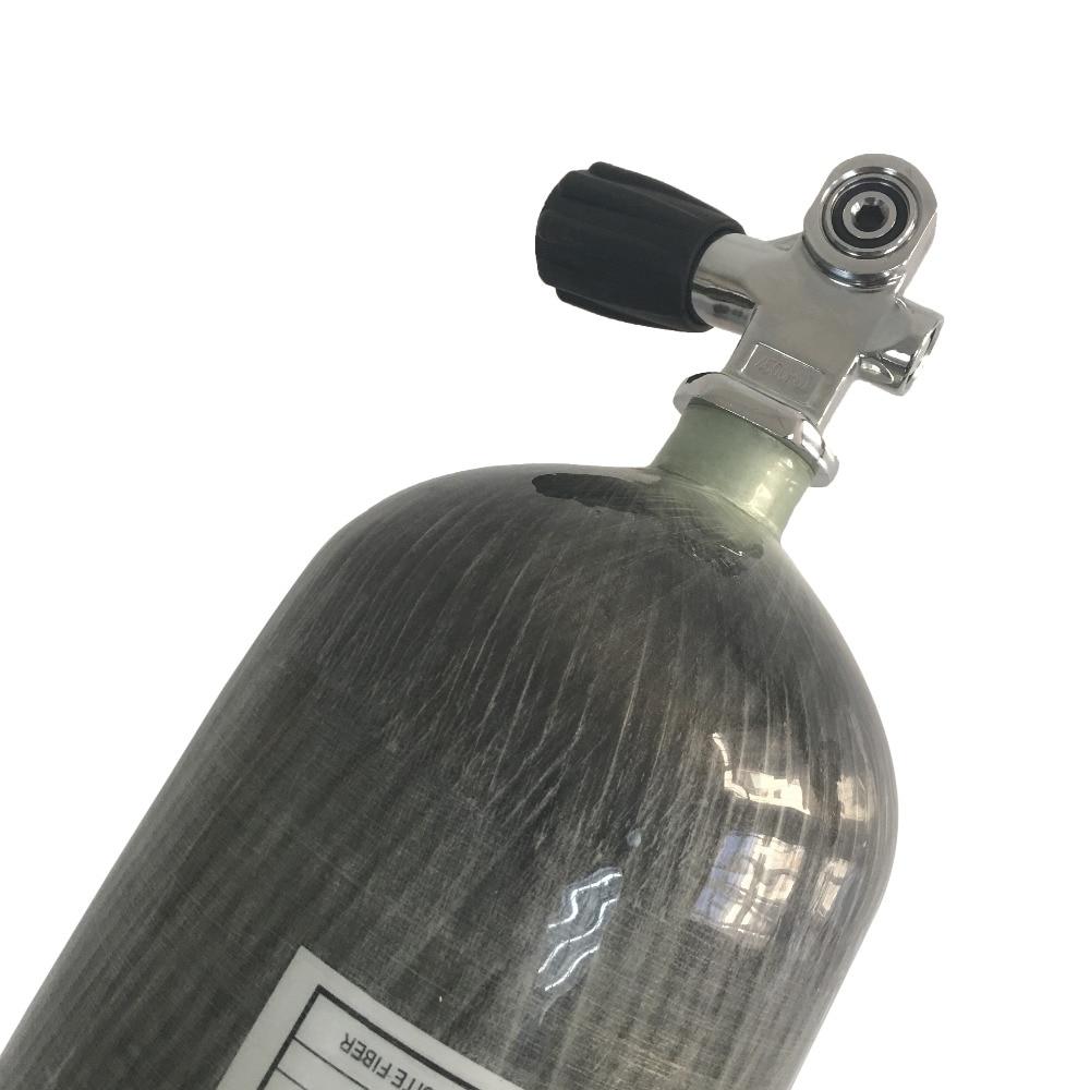 2017 New 4500psi 300bar 6.8L Carbon Fiber Composited Gas Cylinder for diving scuba with Valve-S Баллон для дайвинга
