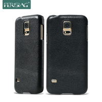 Ferising Brand S5 Luxury 100 Real Genuine Leather Phone Case For Samsung Galaxy S5 I9600 Top
