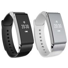 K2 Neue TalkBand besser dann Umini Smart Bluetooth headset call Armband Armband Bluetooth Dual-modus Schlaf-monitor Smartwatch