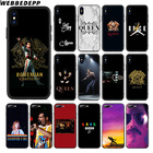 ①  WEBBEDEPP Queen Band Мягкий силиконовый чехол Apple iPhone Xr Xs Max X или 10 8 7 6 6S Plus 5 5S SE  ①