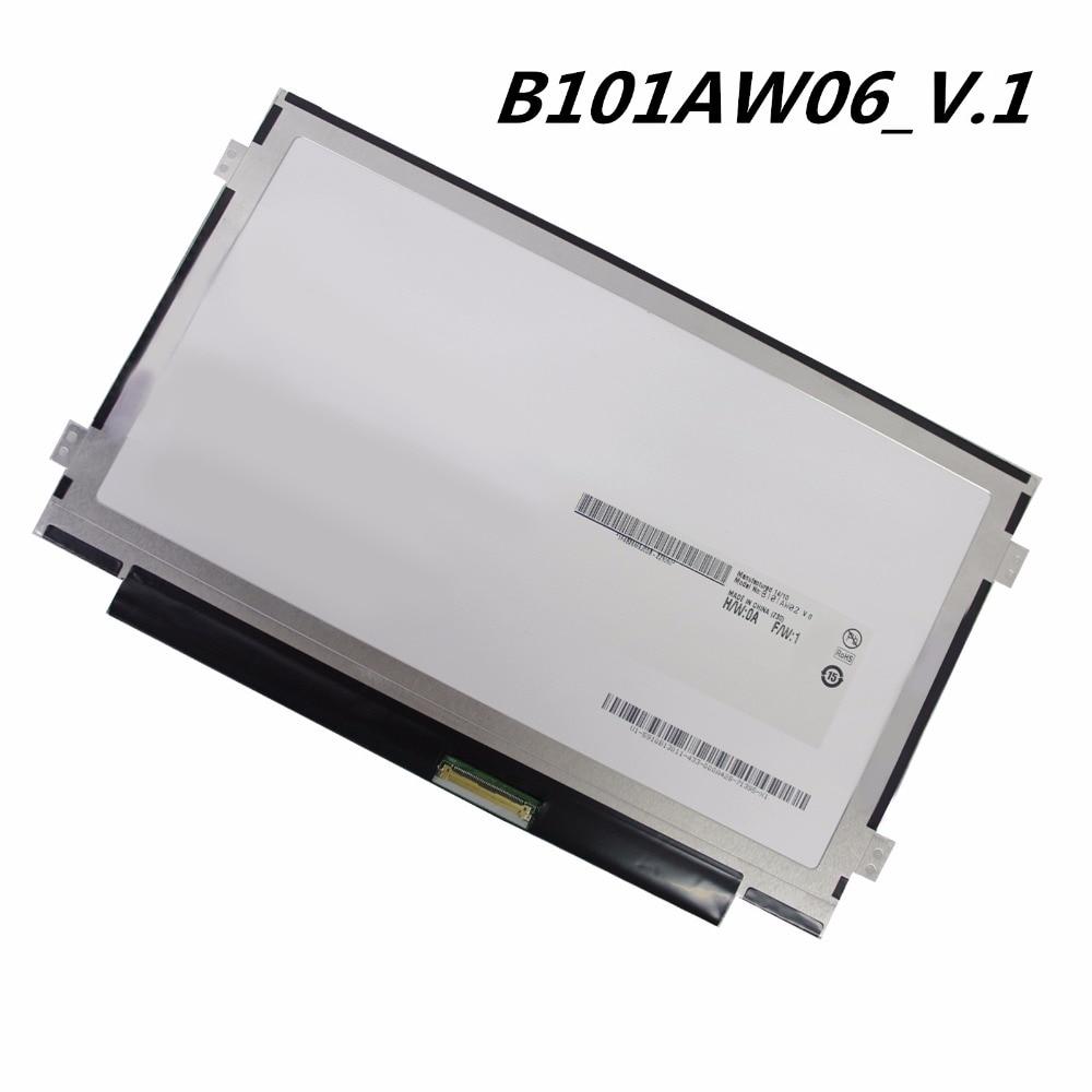 N101L6-L0D BA101WS1 N101LGE-L31 N101LGE-L41 LP101WSB-TLN1 LTN101NT08 B101AW06 V.1 for Lenovo S100 S110 Laptop LED Screen
