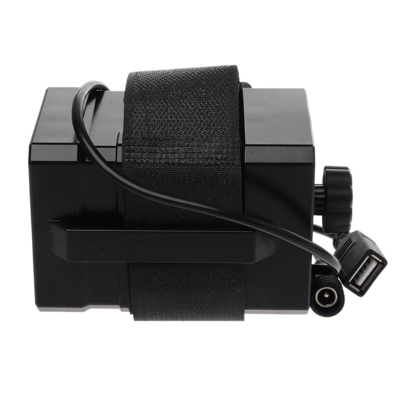 12V Waterproof Battery Case Box with USB Interface Support 3x 18650 26650 Battery DIY Power Bank for Bike LED Light Lamp Smartph in Battery Storage Boxes from Consumer Electronics