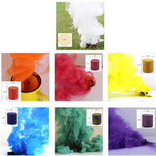7Pcs Color Smoke Effect for Photography, Parties, for halloween night Smoke fog background horror & Advertising Studio Film Dram