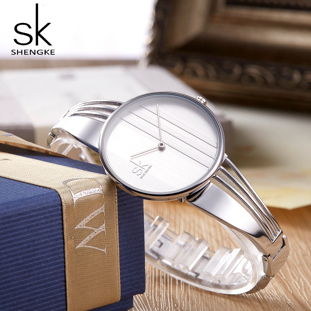 SHENGKE TOP Brand Women Watch Fashion Charm Bracelet Women Watches for Lady Jewelry Clock Quartz Women Relojes Mujer 2018 New Karachi