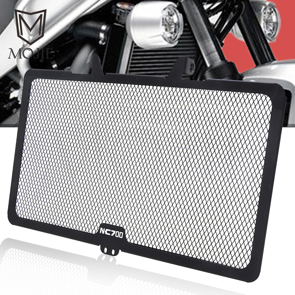 For <font><b>Honda</b></font> NC700X NC700S NC700 <font><b>NC</b></font> <font><b>700</b></font> X S 2012-2014 Motorcycle Engine Radiator Guard Protector Grille Oil Cooler Cover Protection image